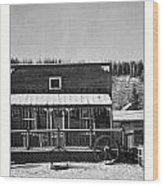 3th Avenue Wood Print