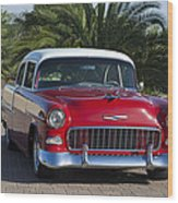 1955 Chevrolet 210 Wood Print