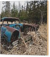 1956 Chevy Wood Print