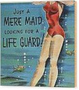 American Postcard, C1950 Wood Print