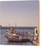 Chania - Crete Wood Print