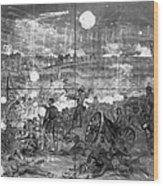 Civil War: Gettysburg Wood Print