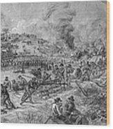 Civil War: Petersburg Wood Print