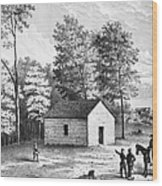 Civil War: Shiloh, 1862 Wood Print