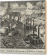 Civil War: Vicksburg, 1863 Wood Print