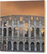 Colosseum. Rome Wood Print