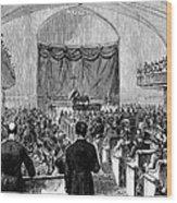 Cornelius Vanderbilt Wood Print