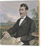 David Livingstone Wood Print