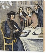 Desiderius Erasmus Wood Print