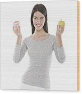 Diet Choices Wood Print
