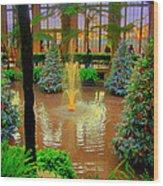 Dupont Gardens Wood Print