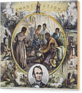 Emancipation Proclamation Wood Print