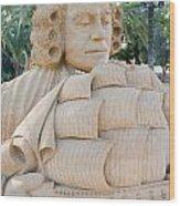 Fairytale Sand Sculpture  Wood Print