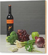 Foods Rich In Quercetin Wood Print