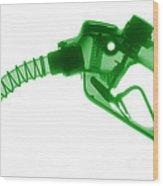 Gas Nozzle, X-ray Wood Print