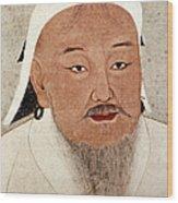 Genghis Khan (1162-1227) Wood Print