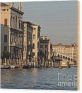 Grand Canal. Venice Wood Print