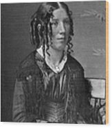 Harriet Beecher Stowe, American Wood Print