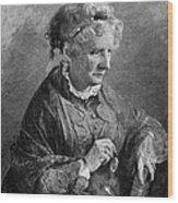 Harriet Beecher Stowe Wood Print