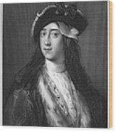 Horace Walpole (1717-1797) Wood Print