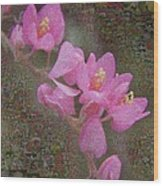 In Bloom Collections Wood Print