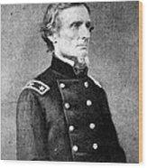 Jefferson Davis (1808-1889) Wood Print