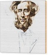 John Tyndall, Irish Physicist Wood Print