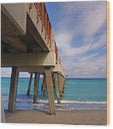 4- Juno Pier Wood Print