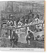 Kansas: Black Exodus, 1879 Wood Print