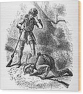 Last Of The Mohicans, 1872 Wood Print