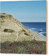 Long Nook Beach Wood Print