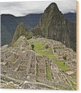 Machu Picchu, Peru Wood Print