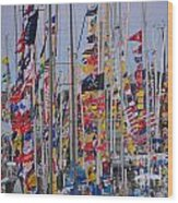 Mackinac Race Wood Print