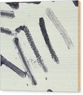 Marburg Virus, Tem Wood Print