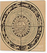 Medieval Zodiac Wood Print by Science Source
