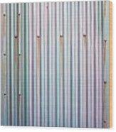 Metal Background Wood Print