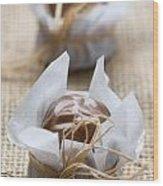 Milk Chocolate Wood Print
