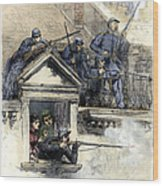 Paris Commune, 1871 Wood Print