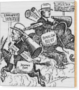 Presidential Campaign, 1928 Wood Print