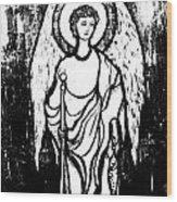 Raphael Archangel Wood Print