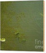 River Green Wood Print
