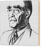 Rudyard Kipling (1865-1936) Wood Print