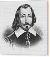 Samuel De Champlain Wood Print