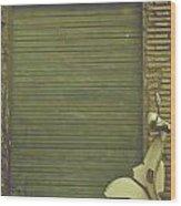 Scooter Wood Print by Joana Kruse