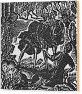 Shakespeare: Hamlet Wood Print