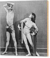 Silent Film Still: Dancing Wood Print