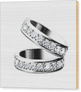 The Beauty Wedding Ring Wood Print