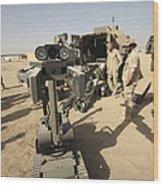 The Teodor Heavy-duty Bomb Disposal Wood Print