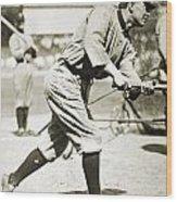 Ty Cobb (1886-1961) Wood Print