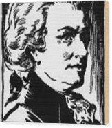 Wolfgang Amadeus Mozart Wood Print